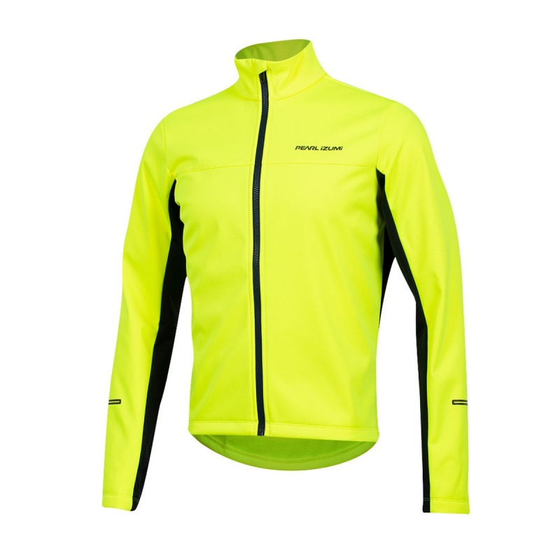 Veste Pearl Izumi Quest Amfib Jaune Screaming/Bleu Marine 2019-2020
