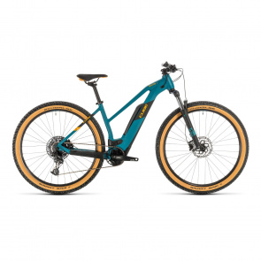 "Cube 2020 VTT Electrique 29"" Cube Reaction Hybrid Pro 500 Trapèze Vert Pin/Orange 2020 (334111)"