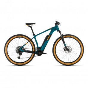 "Cube 2020 VTT Electrique 29"" Cube Reaction Hybrid Pro 500 Vert Pin/Orange 2020 (334111)"