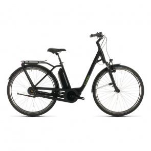 Cube 2020 Vélo Electrique Cube Town Hybrid Pro 500 Easy Entry Noir/Vert 2020 (332101)