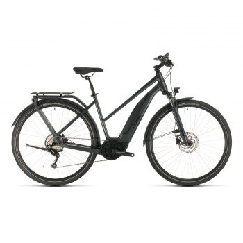 Vélo Electrique Cube Touring Hybrid Pro 500 Trapèze Iridium/Noir 2020 (331101)
