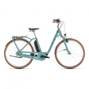 Cube - Promo Vélo Electrique Cube Elly Cruise Hybrid 400 Easy Entry Pistache/Bleu 2019 (232600)
