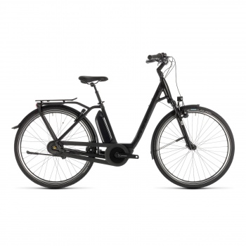 Vélo Electrique Cube Town Hybrid EXC 500 Easy Entry Black Edition 2019 (232201)