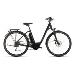 Cube 2020 Vélo Electrique Cube Town Sport Hybrid One 400 Easy Entry Noir/Gris 2020 (332350)