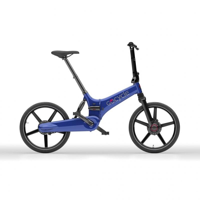 Vélo Electrique Pliable GoCycle GX Bleu
