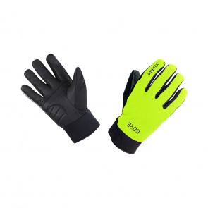 Gore Bike Wear Gants Gore Wear Gore-Tex Thermo Jaune Néon/Noir 2019-2020