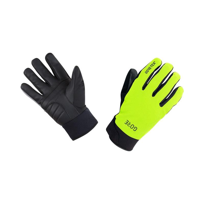 Gore Wear Gore-Tex Thermo Handschoenen Neon Geel/Zwart 2019-2020