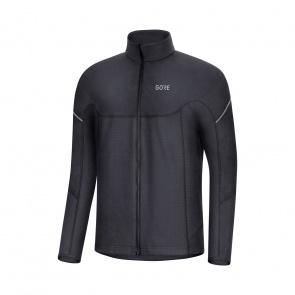 Gore Bike Wear Gore Wear Thermo Zip Shirt met Lange Mouwen Zwart 2019-2020