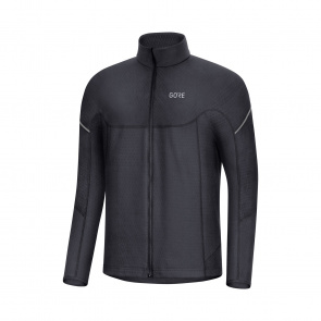Gore Wear Maillot Manches Longues Gore Wear Thermo Zip Noir 2019-2020