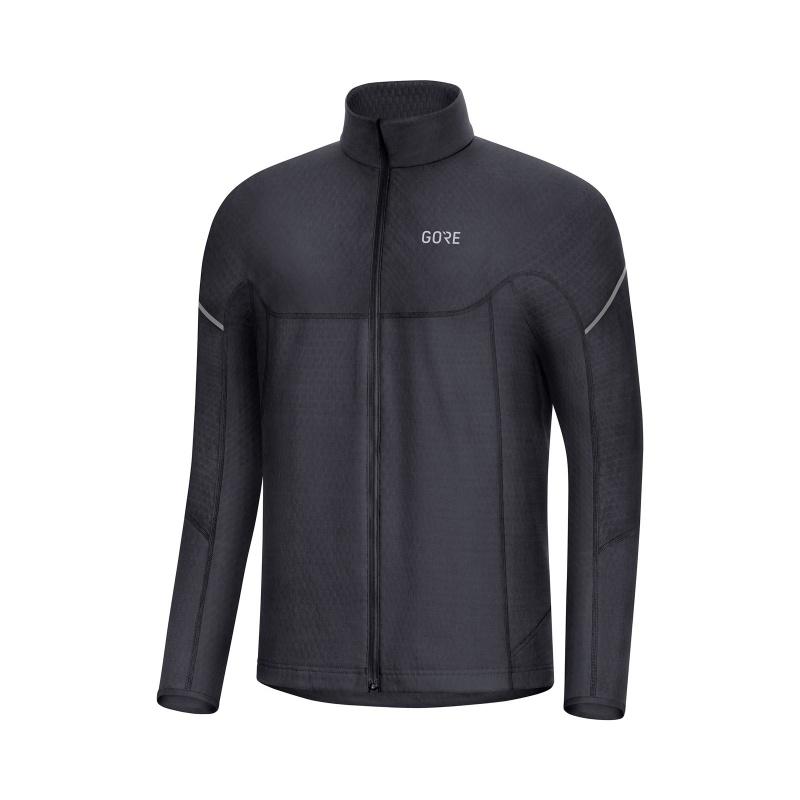 Gore Wear Thermo Zip Shirt met Lange Mouwen Zwart 2019-2020