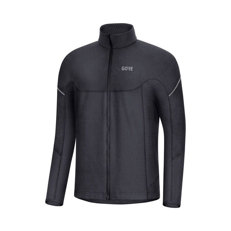 Maillot Manches Longues Gore Wear Thermo Zip Noir 2019-2020