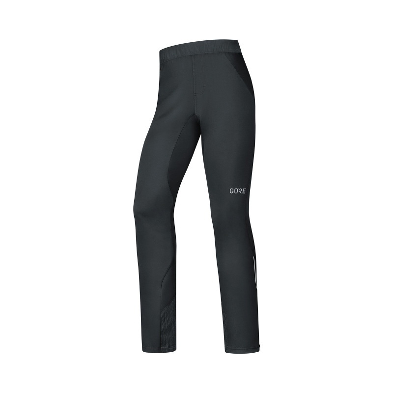 Pantalon Gore Wear Windstopper C5 Trail Noir 2019-2020