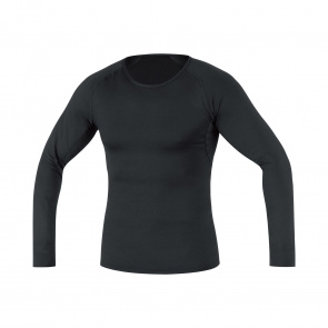 Gore Bike Wear Sous-vêtement Manches Longues Gore Wear Thermo Noir 2019-2020