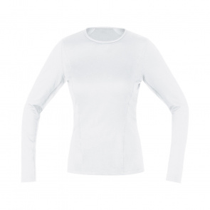 Gore Bike Wear Gore Wear Thermo Ondershirt met Lange Mouwen voor Vrouwen Wit 2019-2020