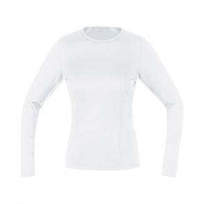Gore Bike Wear Sous-vêtement Manches Longues Femme Gore Wear Thermo Blanc 2019-2020