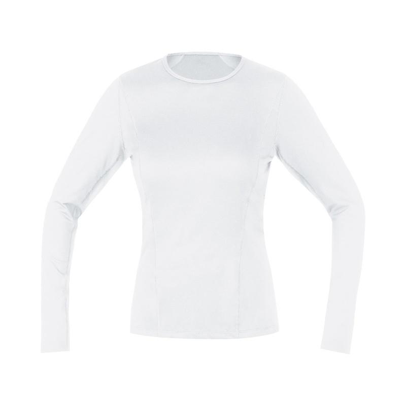 Gore Wear Thermo Ondershirt met Lange Mouwen voor Vrouwen Wit 2019-2021