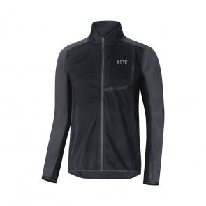 Gore Bike Wear Veste Gore Wear C3 Windstopper Noir/Gris Terra 2019-2020
