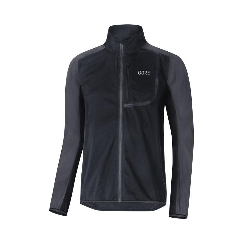 Veste Gore Wear C3 Windstopper Noir/Gris Terra 2019-2020