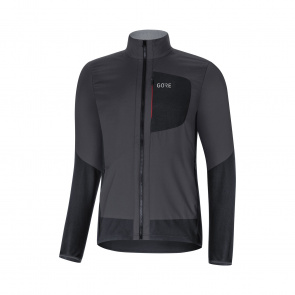 Gore Bike Wear Veste Gore Wear C5 Windstopper Insulated Gris Terra/Noir 2019-2020