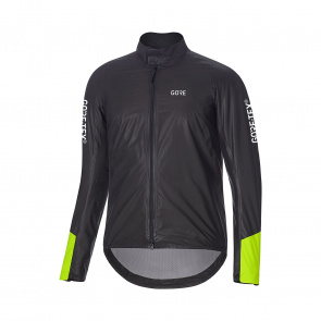 Gore Bike Wear Veste Gore Wear C5 GTX Shakedry Insulated Viz Noir/Jaune Néon 2019-2020