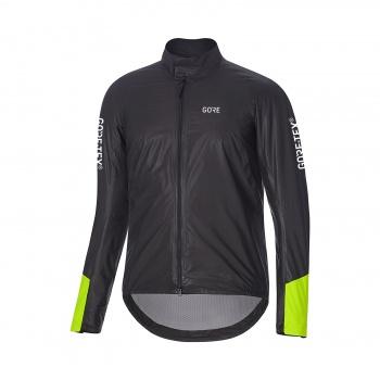 Gore Wear C5 GTX Shakedry Insulated Viz Jas Zwart/Neon Geel 2019-2020