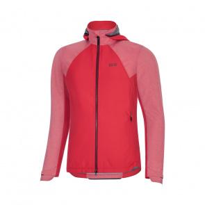 Gore Bike Wear Gore Wear C5 GTX Infinium Hybrid Hooded Jas voor Vrouwen Roze 2019-2020