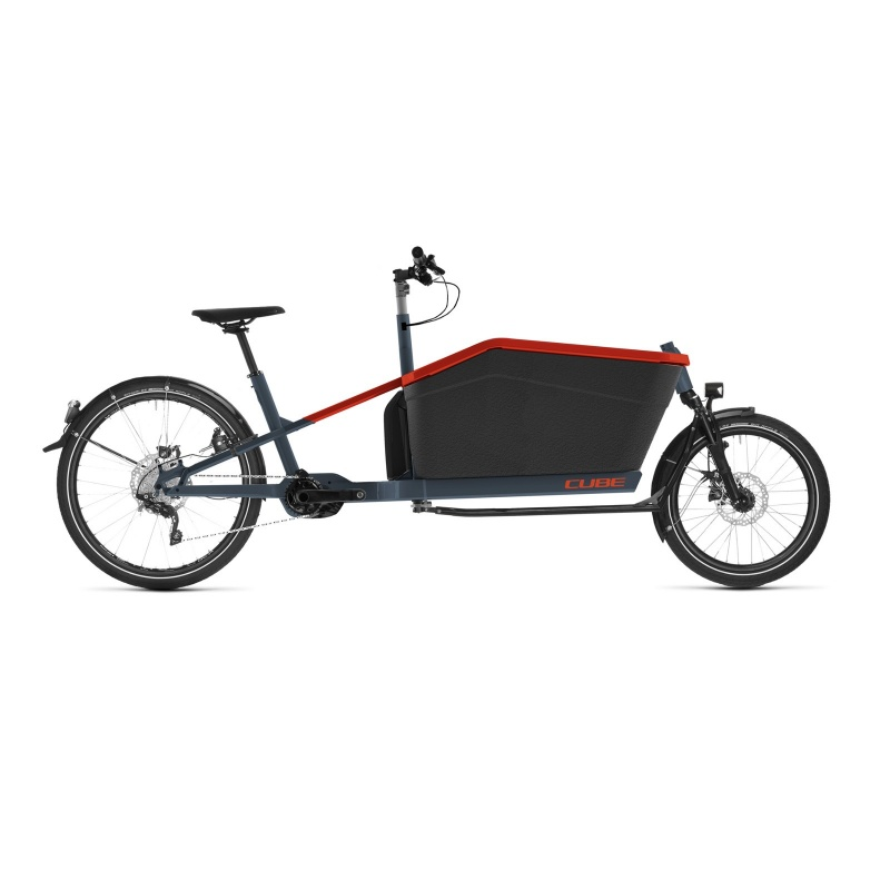 Vélo Electrique Cube Cargo Sport Hybrid 500 2021 (389300)