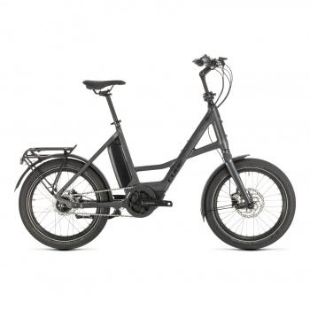 Vélo Electrique Cube Compact Hybrid 500 Iridium/Noir 2020 (389100)