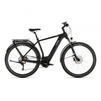 Vélo Electrique Cube Kathmandu Hybrid Pro 500 Noir/Blanc 2020 (331201)