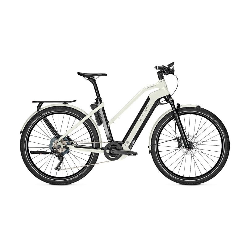 Vélo Electrique Kalkhoff Endeavour 7.B Advance 625 Trapèze Noir/Blanc 2021 (637529075-7)  (637529077)