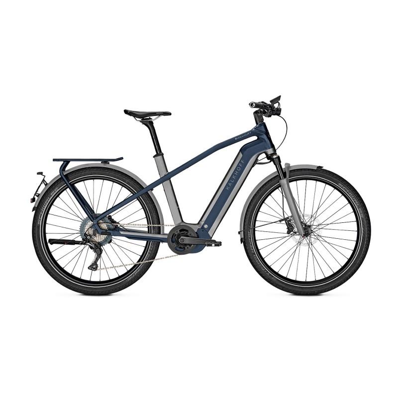 Vélo Electrique 45 km/h Kalkhoff Endeavour 7.B Excite 45 625 Gris/Bleu 2021 (637528811-3) (637528813)