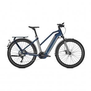 Kalkhoff 2021 Vélo Electrique 45 km/h Kalkhoff Endeavour 7.B Excite 45 625 Trapèze Gris/Bleu 2021 (637528815-7) (637528817)