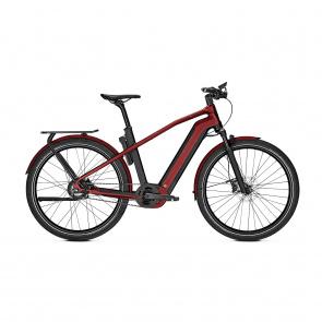 Kalkhoff 2021 Vélo Electrique Kalkhoff Endeavour 7.B Belt 625 Noir/Rouge 2021 (637529051-3) (637529053)