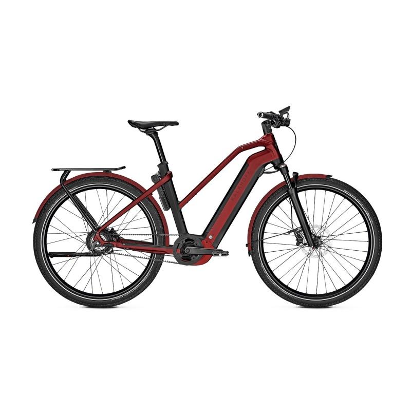 Vélo Electrique Kalkhoff Endeavour 7.B Belt 625 Trapèze Noir/Rouge 2021 (637529055-7)) (637529057)