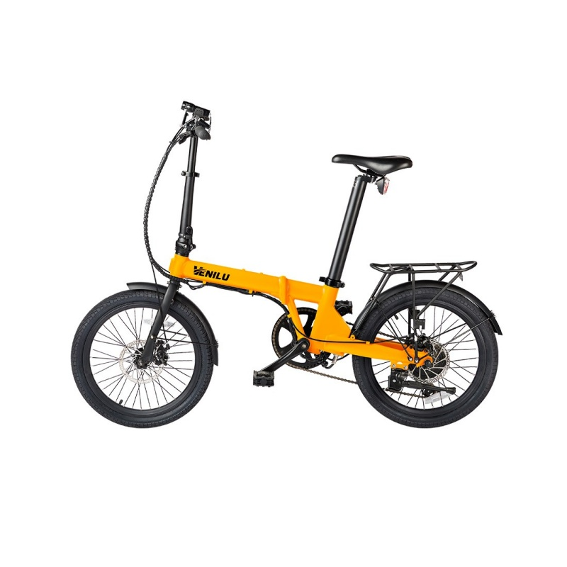 Vélo Electrique Pliable Venilu Vida Orange