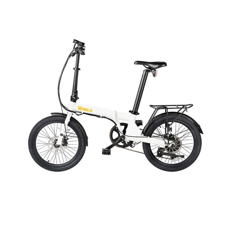 Vélo Electrique Pliable Venilu Vida Blanc