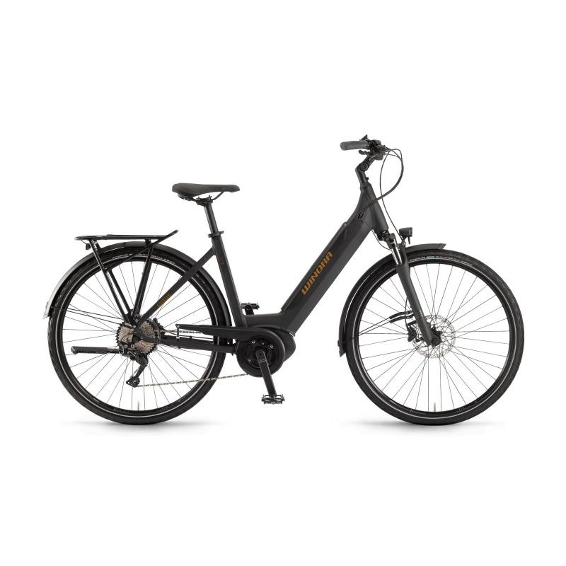Vélo Electrique Winora Sinus i10 500 Easy Entry Noir Mat 2020 (44265100)