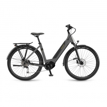 Vélo Electrique Winora Sinus iX10 500 Easy Entry Gris 2020 (44410210)