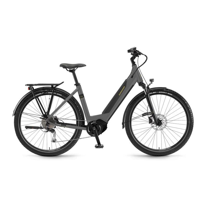 Vélo Electrique Winora Sinus iX10 500 Easy Entry Gris 2021 (44410210) (4441021054)