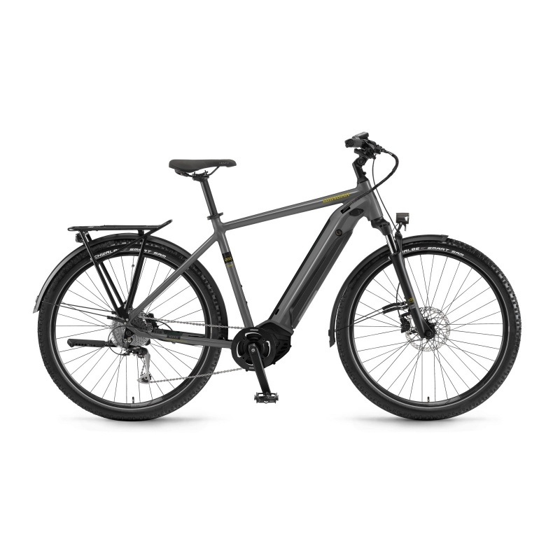 Vélo Electrique Winora Sinus iX10 500 Gris 2021 (44410010) (4441001060)