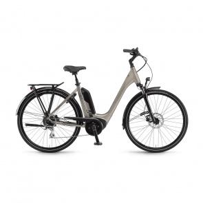 Winora 2020 Vélo Electrique Winora Sinus Tria 8 400 Easy Entry Gris Clair Brillant 2020 (44235089)