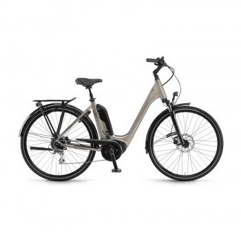 Vélo Electrique Winora Tria 8 400 Easy Entry Gris Clair Brillant 2021  (44235089)