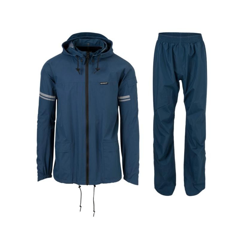 Agu Original Rain Suit Jas + Broek Donkerblauw 2020