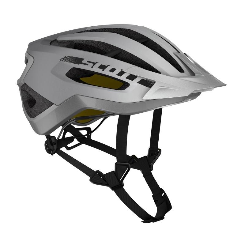 Scott Fuga Plus Rev Helm Reflecterend Zilver 2020