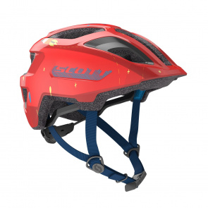 Scott textile Casque Enfant Scott Spunto Junior Rouge 2020