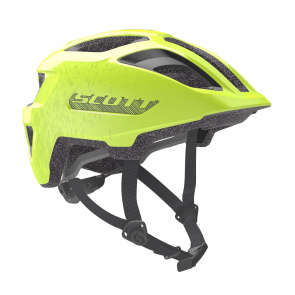 Scott textile Casque Enfant Scott Spunto Junior Jaune Fluo 2020