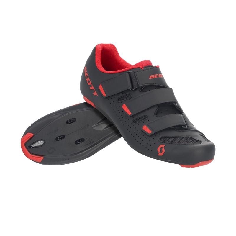 Chaussures Route Scott Comp Noir/Rouge 2020