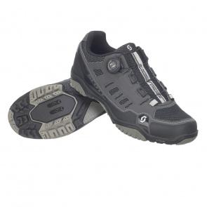 Scott textile Chaussures VTT Scott Sport Crus-r Boa Anthracite/Noir 2020
