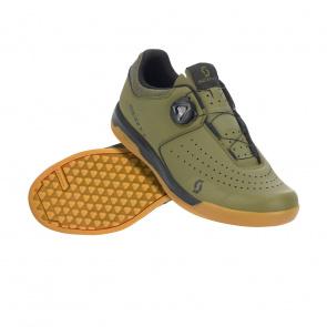 Scott textile Chaussures VTT Scott Sport Volt Vert/Noir 2020