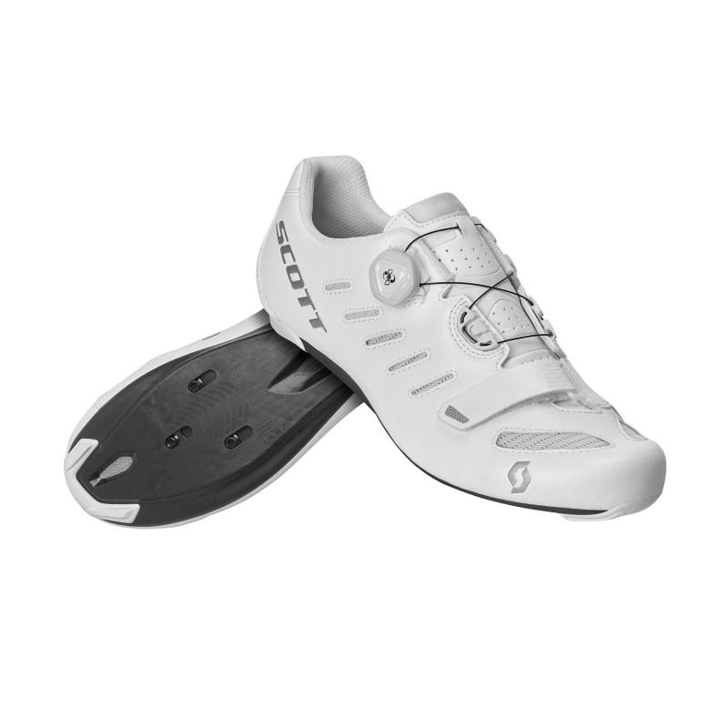 Chaussures Route Scott Team Boa Blanc/Argent 2020